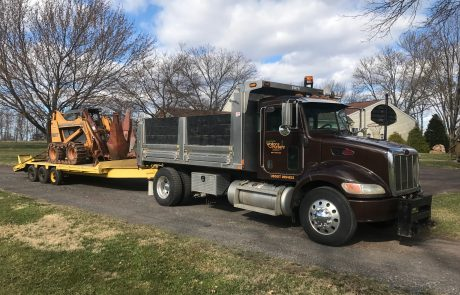 Dump Truck and construction equipment