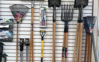Shovels, Takes, and other garden tools