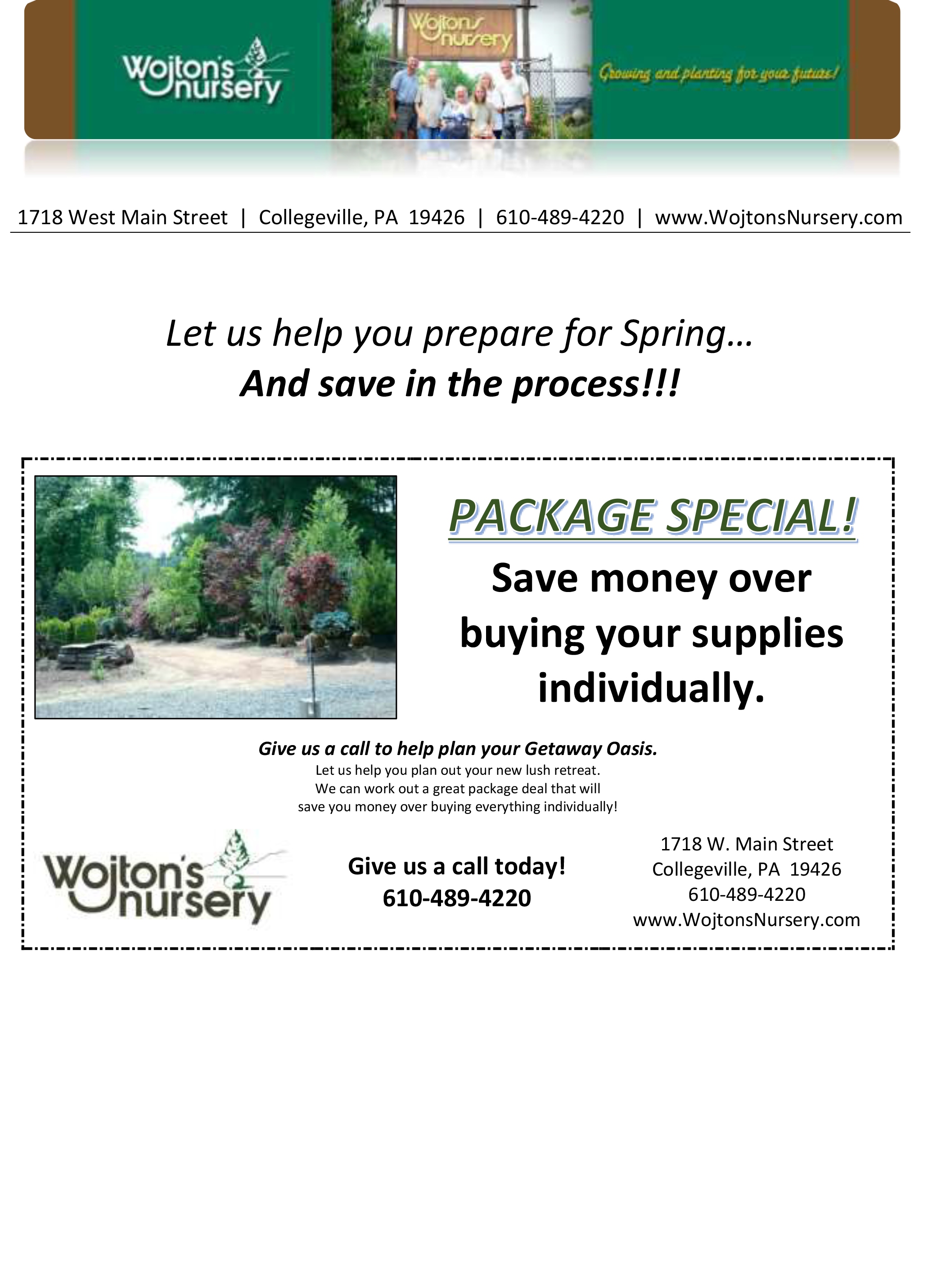 Landscaping Supplies Coupon