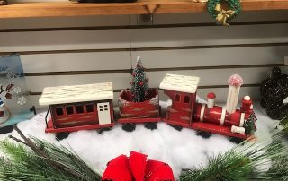 Christmas Toy Train Decoration