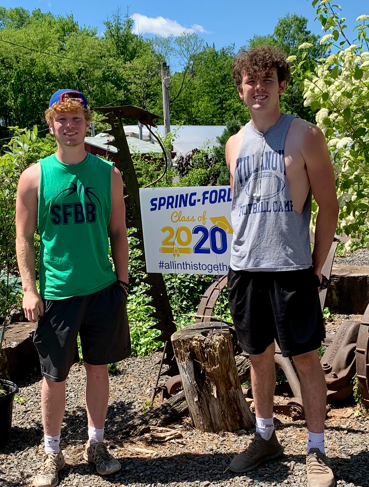 Zach and Ryan, Class of 2020