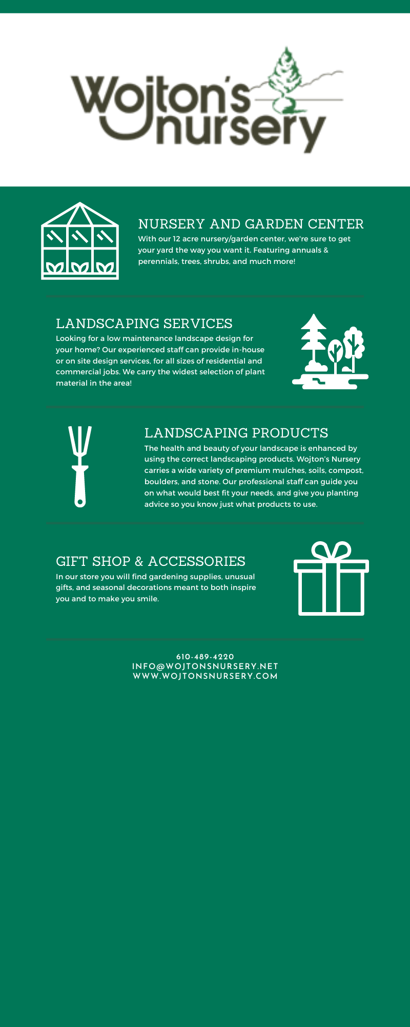 From the Newest Products For Your Property to Landscaping Services, We Can Do It All! 3