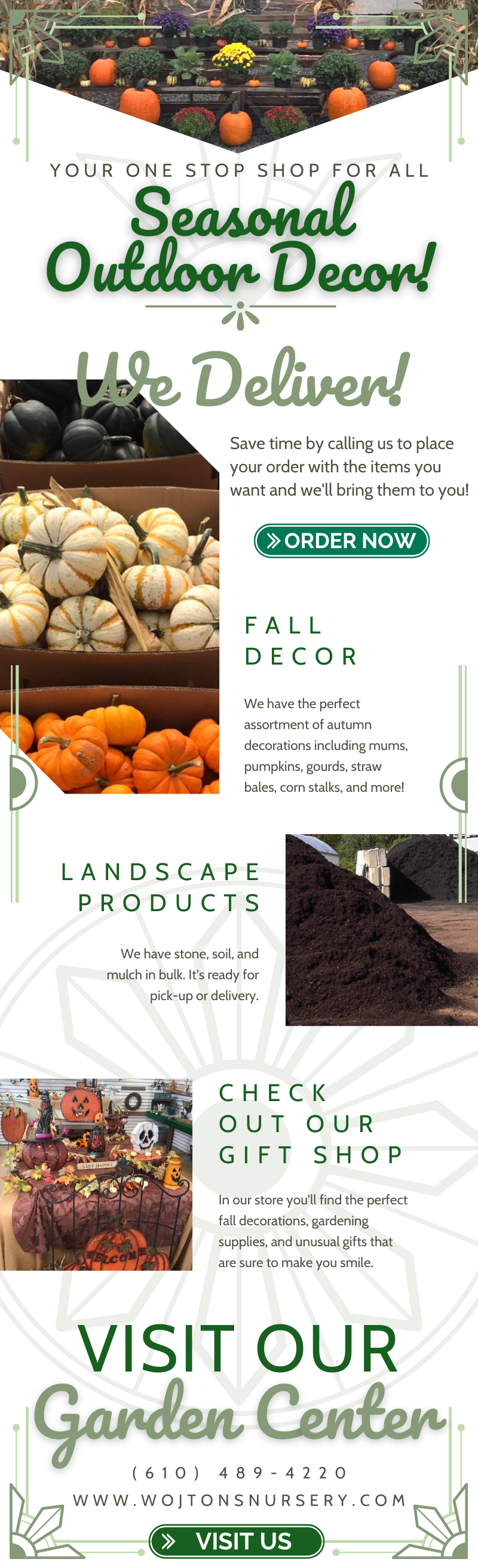 Your One-Stop Shop for Seasonal Outdoor Decor! 1